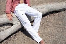 Pantalon Homme en toile de Coton Confortable