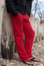 Pantalon Homme Coton 3 poches rouge -  Cotonmarine